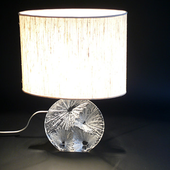 1970s daum nancy table lamp