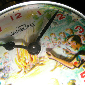 Jamboree (Scouting) Animated Pocket Watch - Pocket Watches
