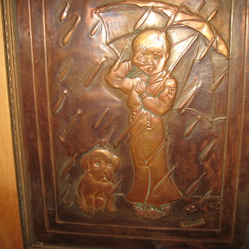Copper Picture... - Arts and Crafts