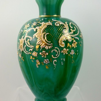 Loetz Malachit vase, PN unknown, DEK I/200, ca. 1890s - Art Glass