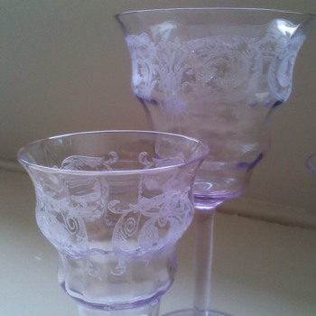 my beautiful Balda glasses - Glassware