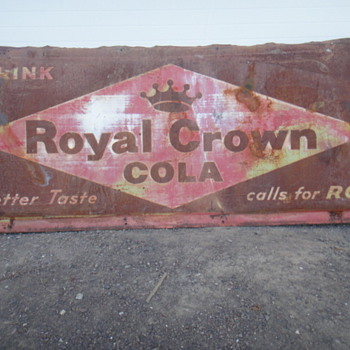 Royal Crown Cola - Signs