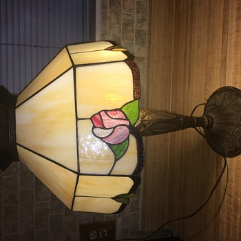 Antique lamp/Salem Bros?
