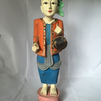 Gypsy Statue - Visual Art