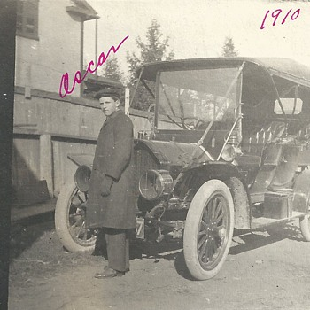 "Oscar, Driver of my Grand Father""1910"" - Photographs"