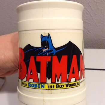 Childhood Memories... 1966 Batman & Robin Cup/Mugs - Comic Books