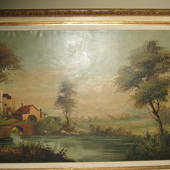 Antique Oil Painting ~Unknown Artist