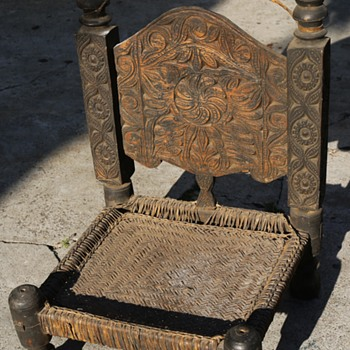 Another Pakistani [?] Bong Chair - Furniture