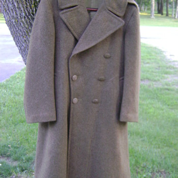 WWII US Army overcoat