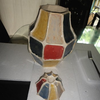 Art Pottery Cookie Jar