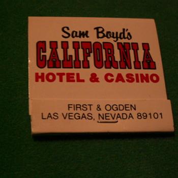 Vintage California Hotel ~ Las Vegas, Nevada