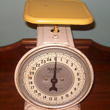 """Hanson"" Scale from the late 40's- early 50's"