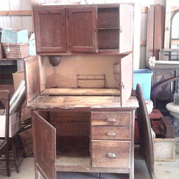 """Hooser """"Type"""" Cabinet."""