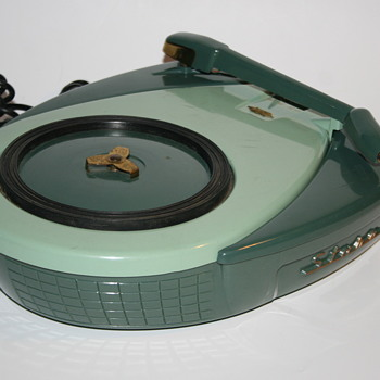 Zenith galaxy disc jockey Stare turntable 1957 - Electronics