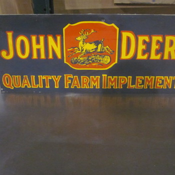 JOhn Deere metal sign - Signs