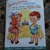 1948 Talking Birthday Card