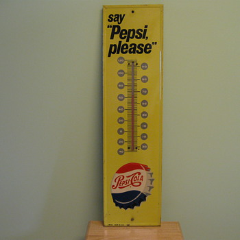 Pepsi Thermometer 1950&#039;s ?