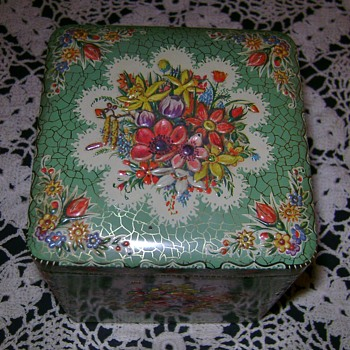 Tea Tin - Advertising