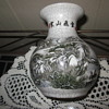Chinese Calligraphy Crackle Vase Winter