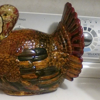 Turkey cookie jar