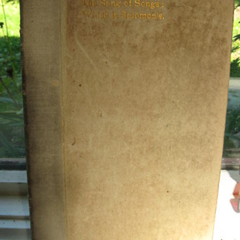 Song Of Songs...1st  Roycroft  Press