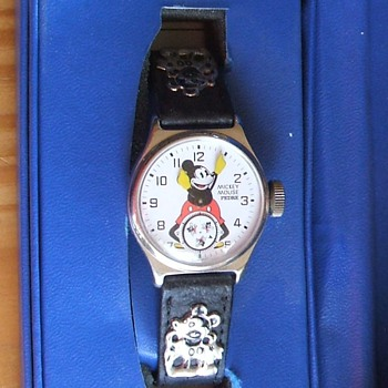 1934 replica Mickey Mouse Wristwatch