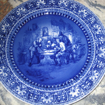 Royal Doulton Porcelain plate - China and Dinnerware