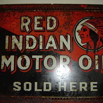 Red Indian  Double-sided Flange - Petroliana