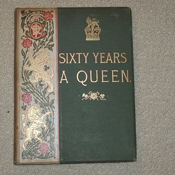 Sixty Years A Queen by Sir Herbert Maxwell, Harmsworth Bros. Ldt.