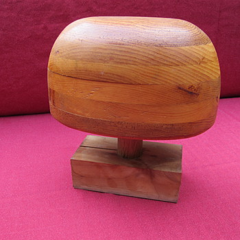 Millinery Hat Block