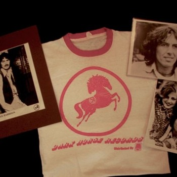 "George Harrison's personal ""Dark Horse"" t-shirt...1974."