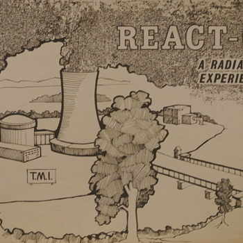 REACT-OR  Board Game - Copyright 1979