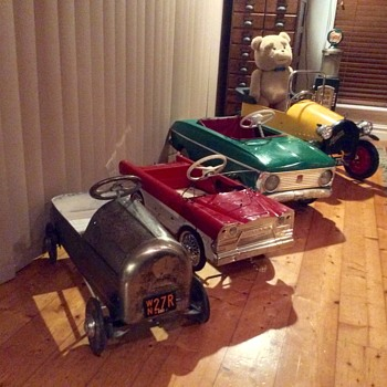 Pedal Car Collection. - Toys