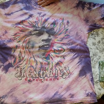 Jimi Hendrix t-shirt from 1960s?  help for info please - Music Memorabilia