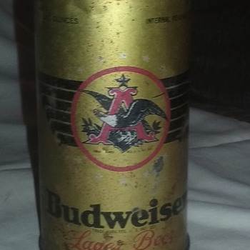 old Budweiser can - Breweriana