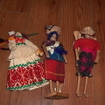 Spanish handcrafted dolls