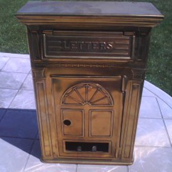Brass Letter Postal Box - Corbin Cabinet Lock Co. - Office