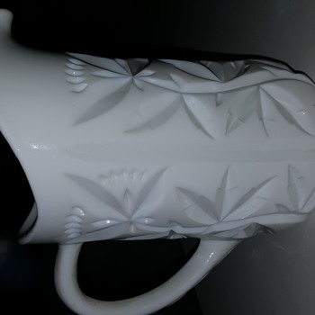 Antique Milk Glass