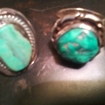 Turquoise Rings - Native American