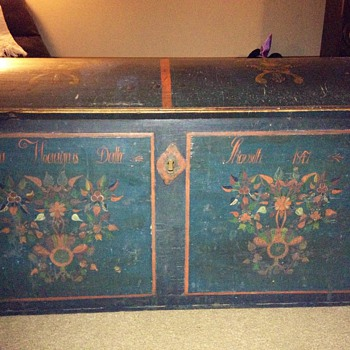 1847 Norwegian Hope Chest - Furniture