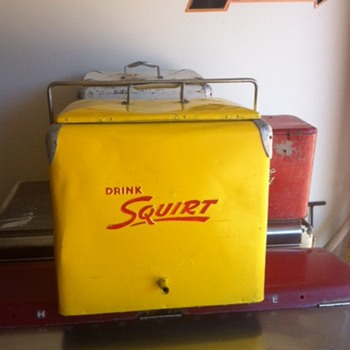Squirt Progress A1 Cooler  - Advertising
