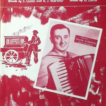 &quot;Tic-Toc Polka&quot; Sheet Music - Paper