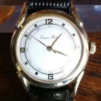 14kt Gold Eterna-matic Watch - Wristwatches