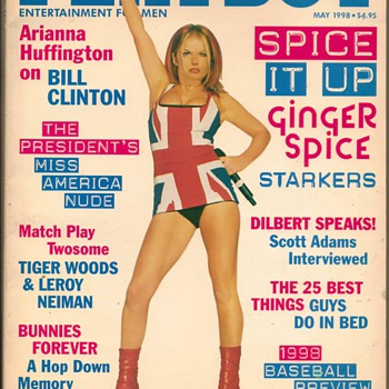 1998 - Playboy Magazine - Geri Halliwell