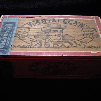 Old Cigar Box, Tampa, FLa - Tobacciana
