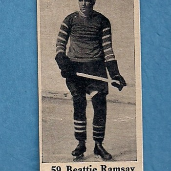 1926 Dominion Chocolates Hockey Card