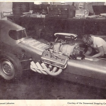 Howard Johnston Dragster Salt Flats