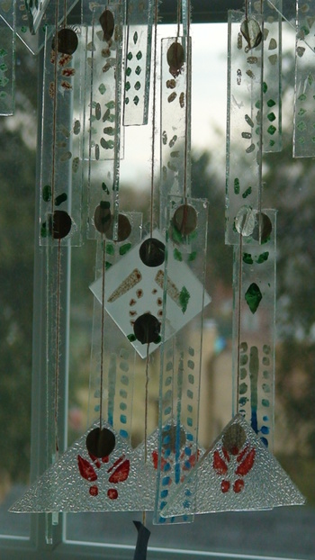 Vintage Chinese Glass Wind Chimes Collectors Weekly