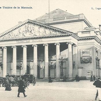 BRUXELLES – LE THÉÂTRE DE LA MONNAIE.