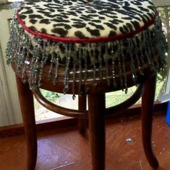 Hand made Artist stool & Tuffet